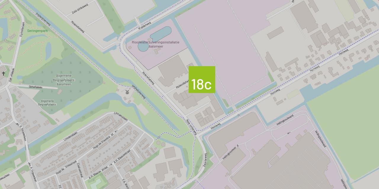 Contact met Van Riemsdijk Reklame - Onze locatie is Molenvlietweg 18c 1432 GW Aalsmeer