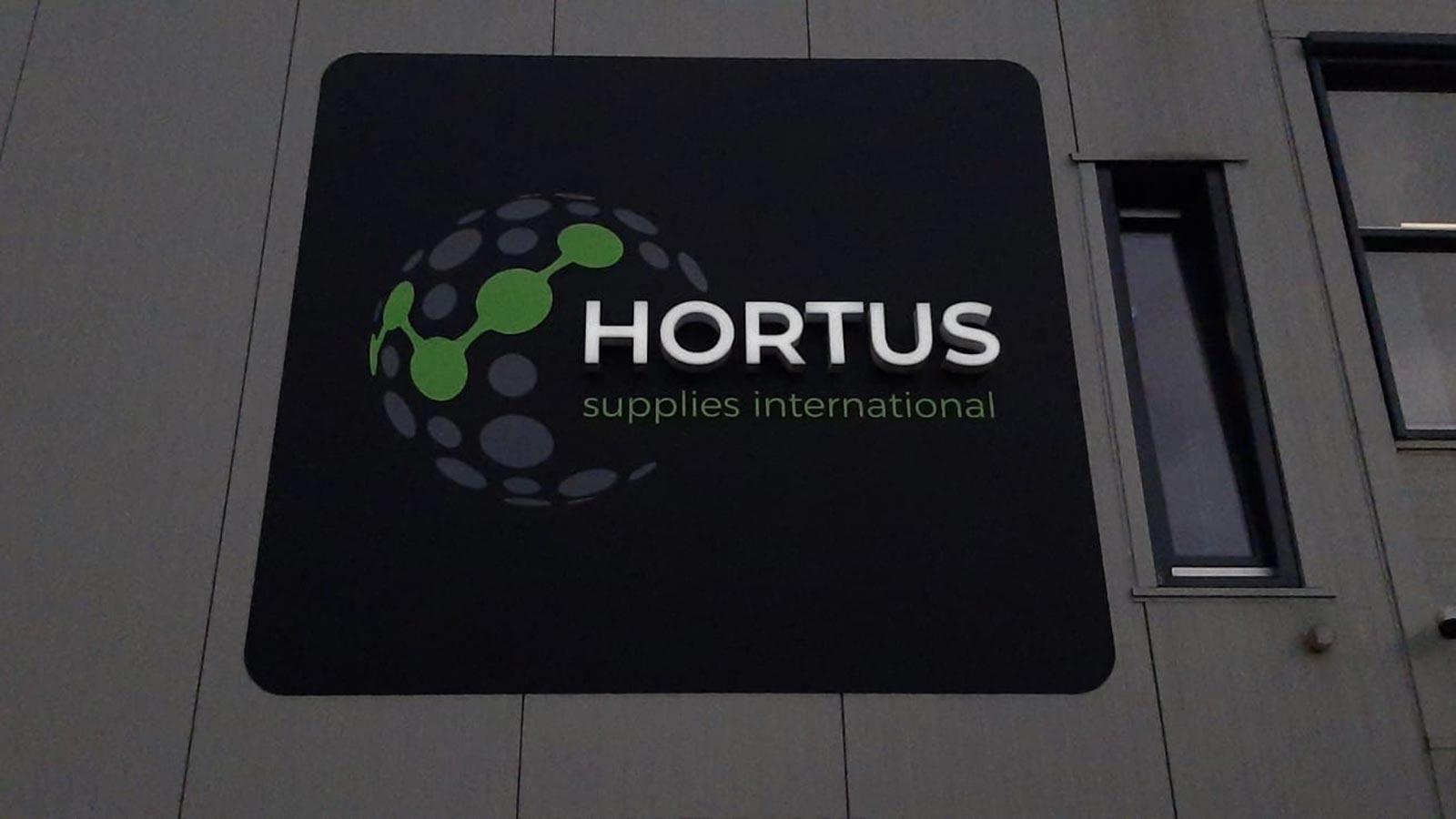 Van Riemsdijk Reklame - Lichtreclame - HORTUS 1