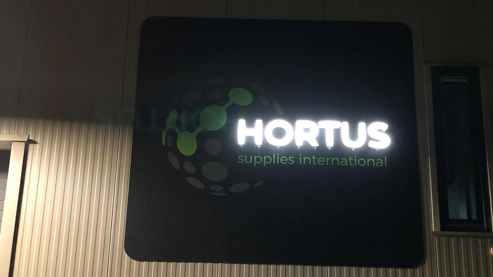 Van Riemsdijk Reklame - Lichtreclame - HORTUS 2