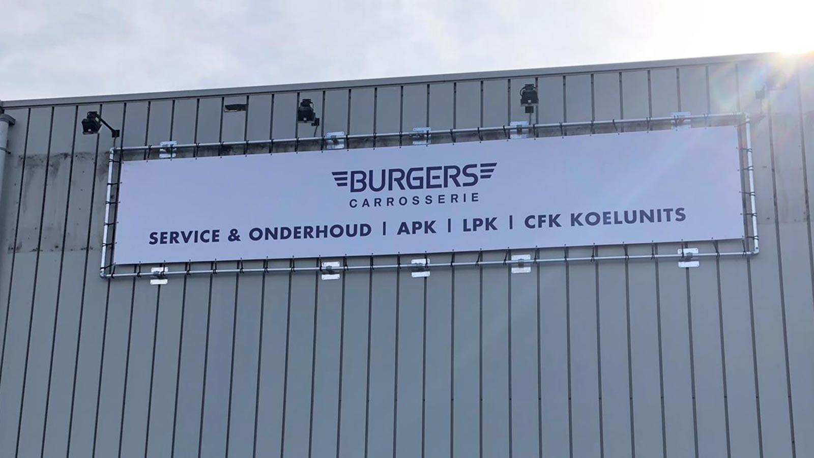 Van Riemsdijk Reklame - Spandoeken - Burgers Carrosserie