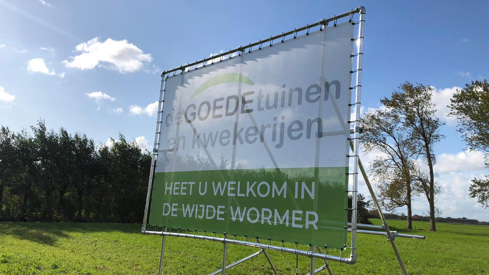 Van Riemsdijk Reklame - Spandoeken - de Goede Tuinen