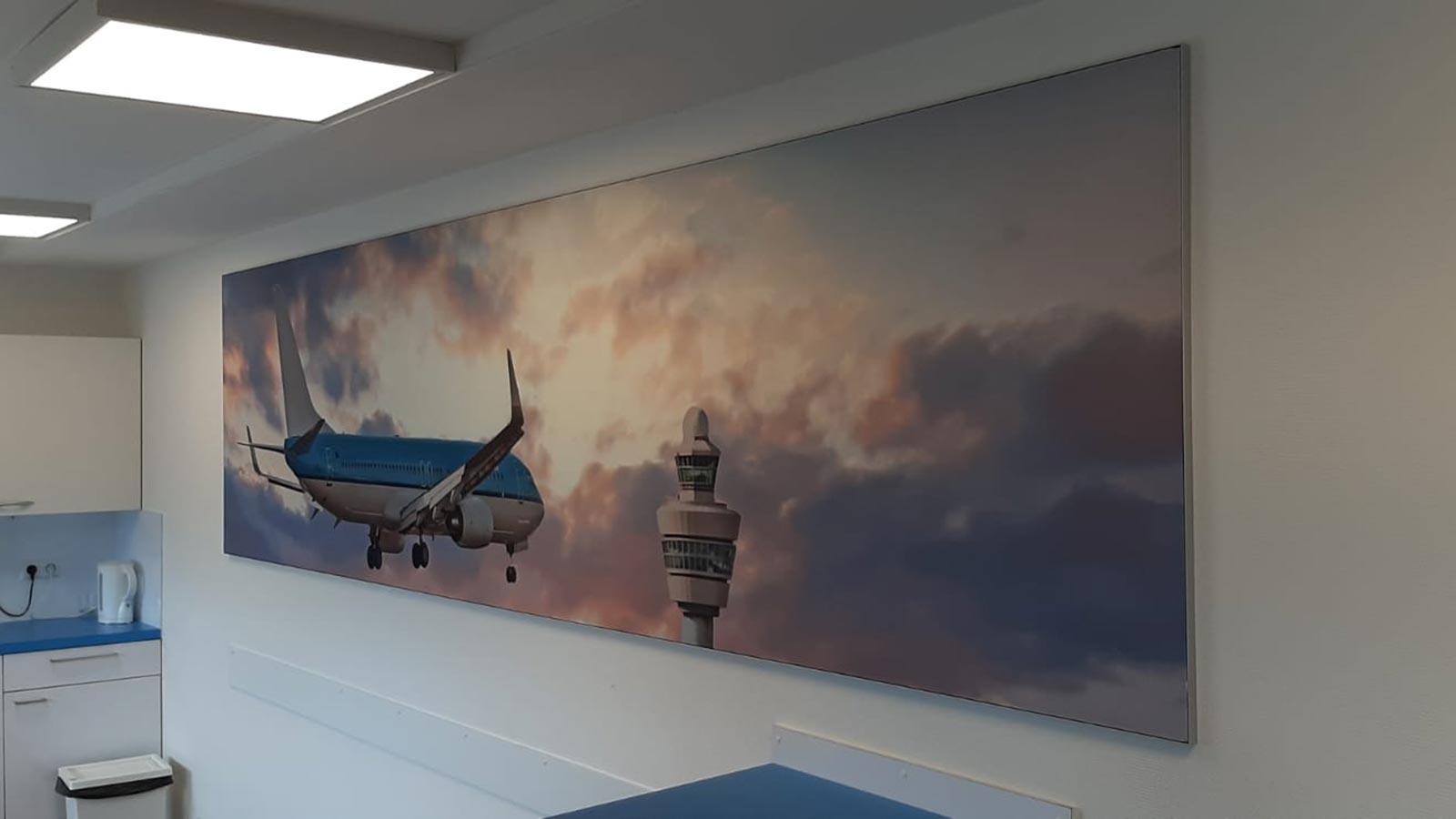 Van Riemsdijk Reklame - Binnenreclame - KLM