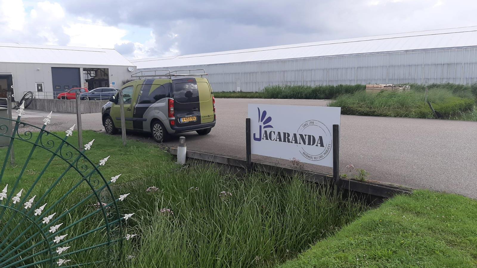 Van Riemsdijk Reklame - Buitenreklame - Jacaranda