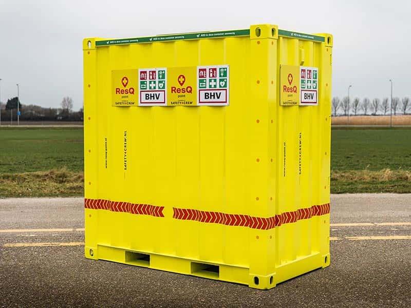 van Riemsdijk Reklame - Safety4Crew - Container - Wrapping - Buitenenreclame