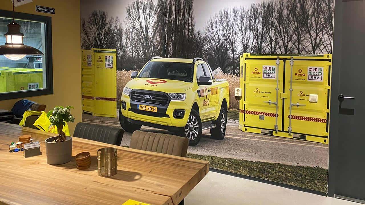 van Riemsdijk Reklame - Safety4Crew - Kantoor - Wrapping - Binnenreclame - Uitgelichte projecten