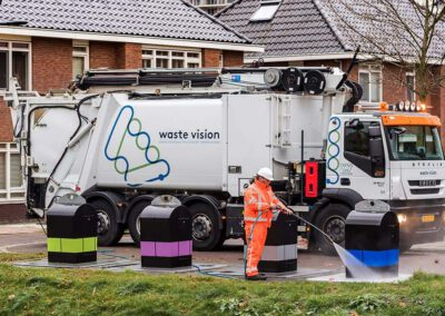 Rebranding en belettering wagenpark Waste Vision