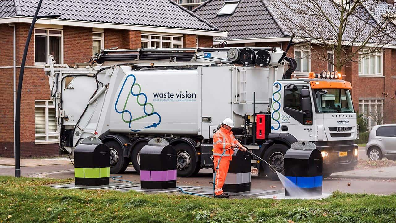 van Riemsdijk Reklame - WaasteVision - Autobelettering - Rebranding en belettering wagenpark - Uitgelichte projecten