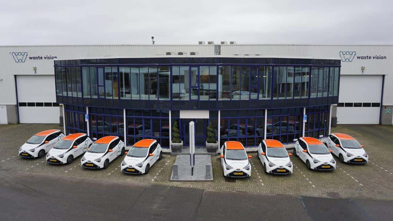 van Riemsdijk Reklame - WaasteVision - Autobelettering - Rebranding en belettering wagenpark