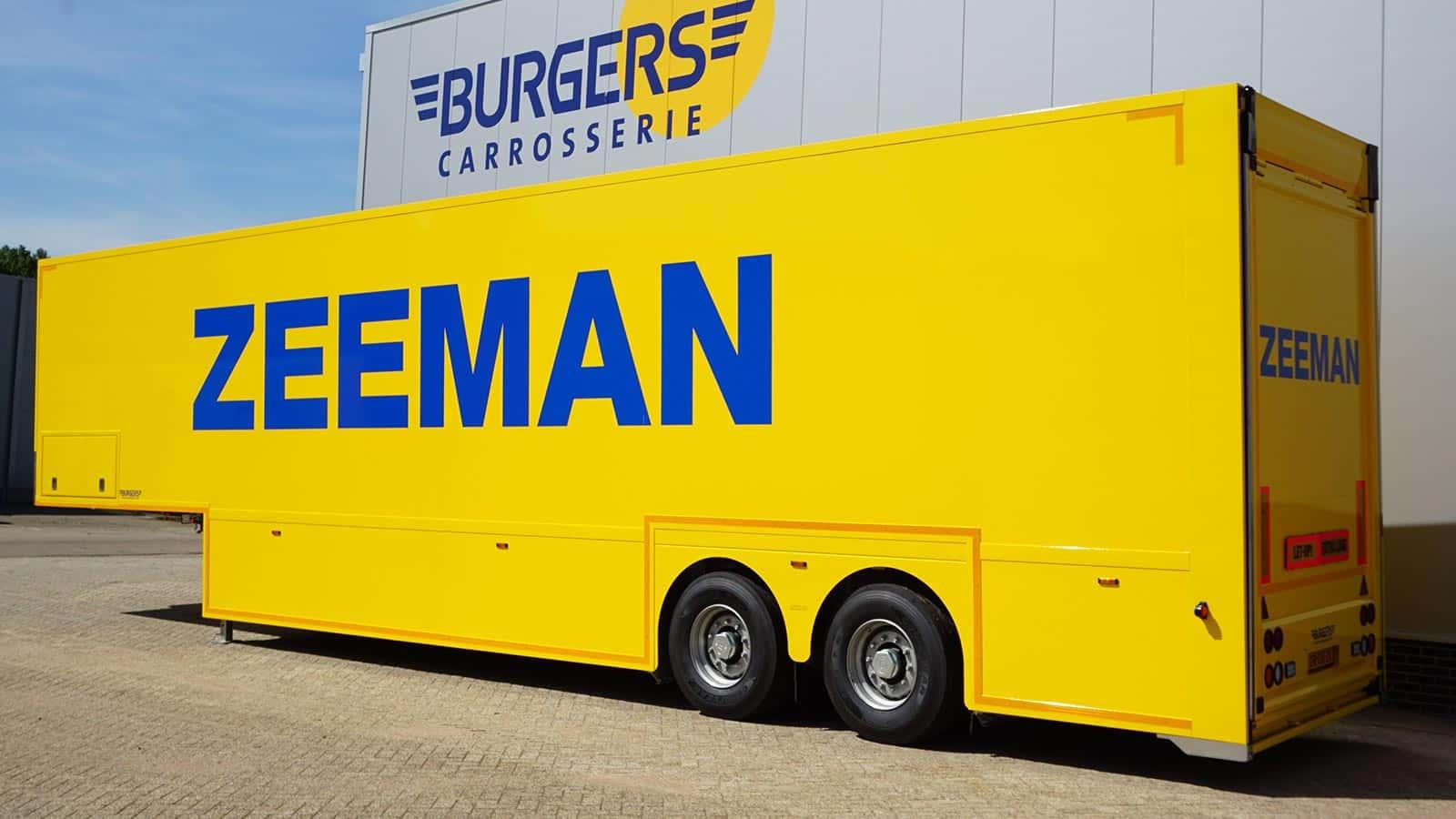 van riemsdijk Reklame - Burgers Carrosserie - Doubledeck Vrachtwagens- Zeeman - Uitgelichte projecten